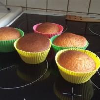 cupcakes nutella sorti du four
